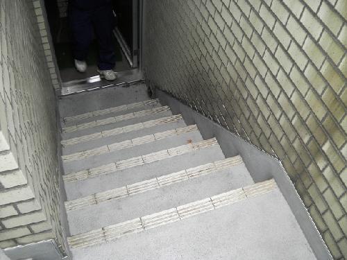 マンション/外階段/防水工事